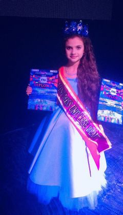 GRAND-PRIX MINI MISS UNIVERSE BEAUTY Подгорская Злата (Россия)